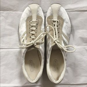 Coach White Sneakers